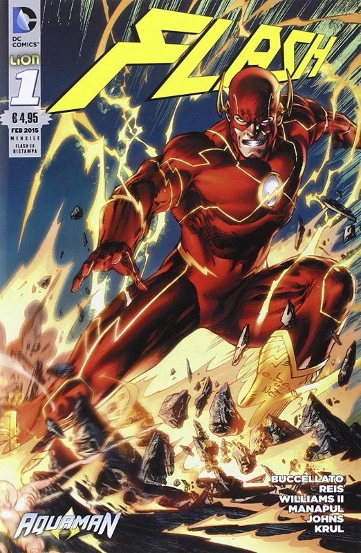 Flash #1 - The new 52 con Cofanetto Anno 1
