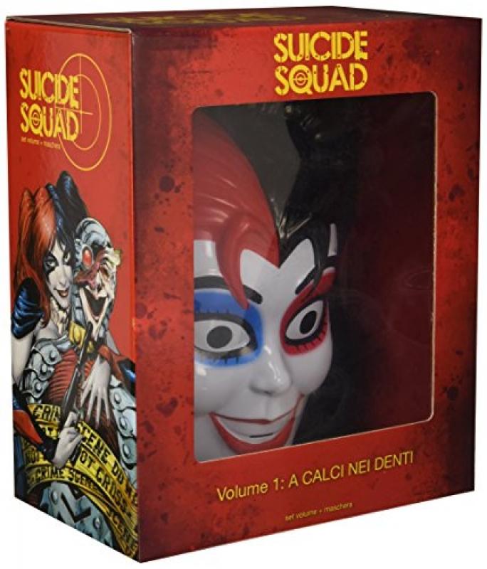 Suicide Squad - A calci nei denti - Box con Maschera