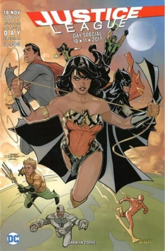 JUSTICE LEAGUE Day Special 2017