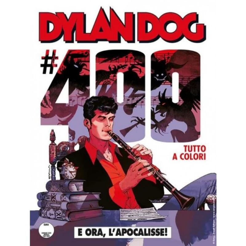 DYLAN DOG 400 - E ORA, L'APOCALISSE! - VARIANT CLAUDIO VILLA