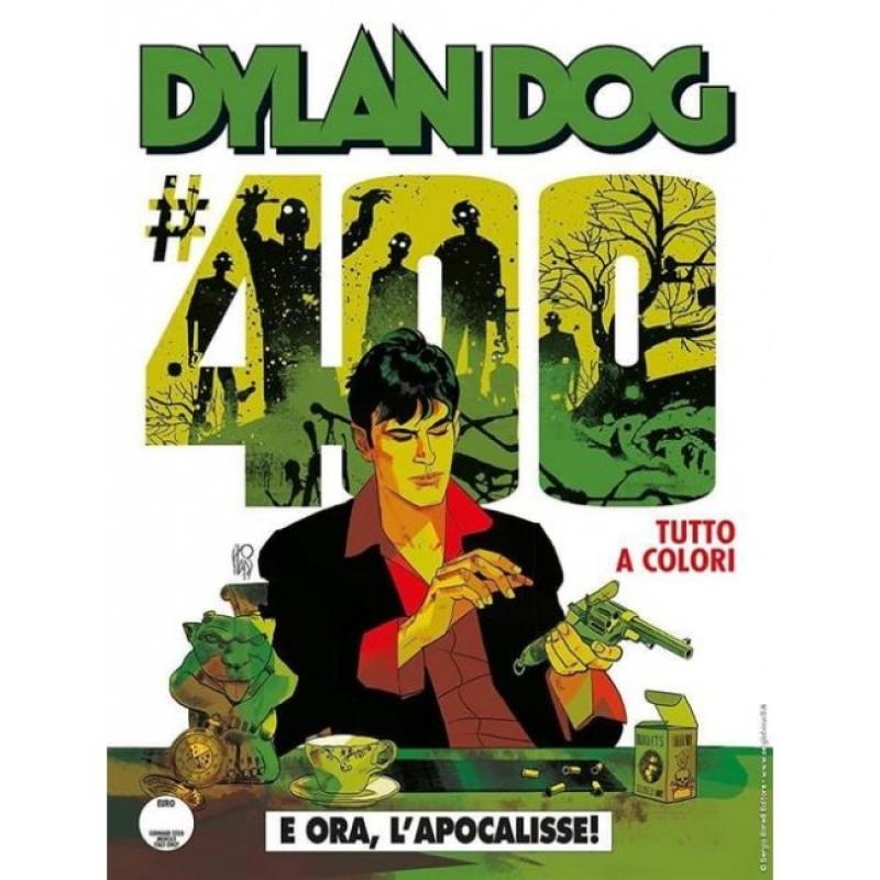 DYLAN DOG 400 FUMETTERIA - E ORA, L'APOCALISSE! - VARIANT ANGELO STANO