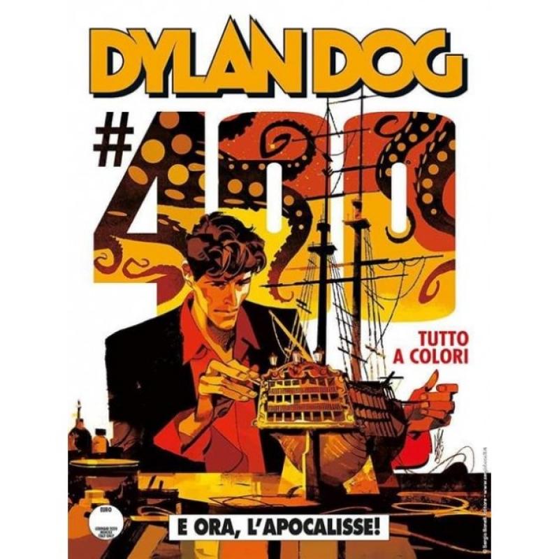 DYLAN DOG 400 FUMETTERIA - E ORA, L'APOCALISSE! - VARIANT GIGI CAVENAGO