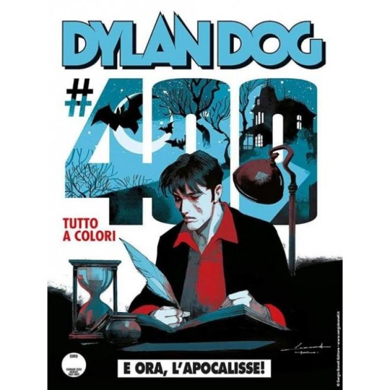 DYLAN DOG 400 FUMETTERIA - E ORA, L'APOCALISSE! - VARIANT CORRADO ROI