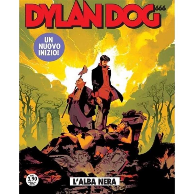 DYLAN DOG 401 - UN NUOVO INIZIO