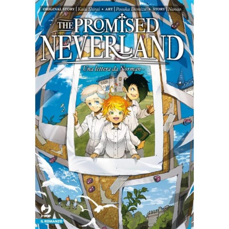 THE PROMISED NEVERLAND - NOVEL: UNA LETTERA DA NORMAN
