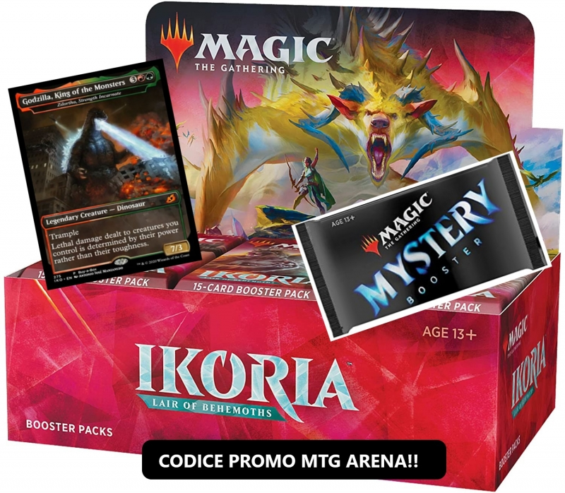 Magic the Gathering - BOX da 36 BUSTINE DI IKORIA (Italiano)