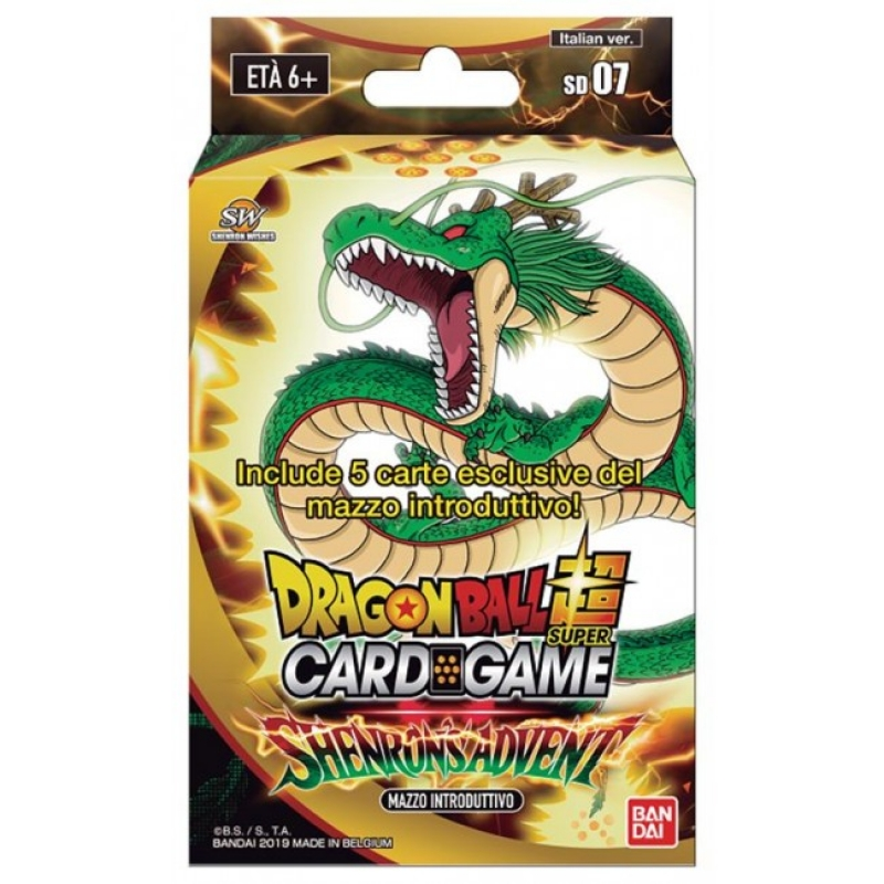 DRAGON BALL SUPER CARD GAME - SHENRONSADVENT STARTER DECK 07 (ITA)