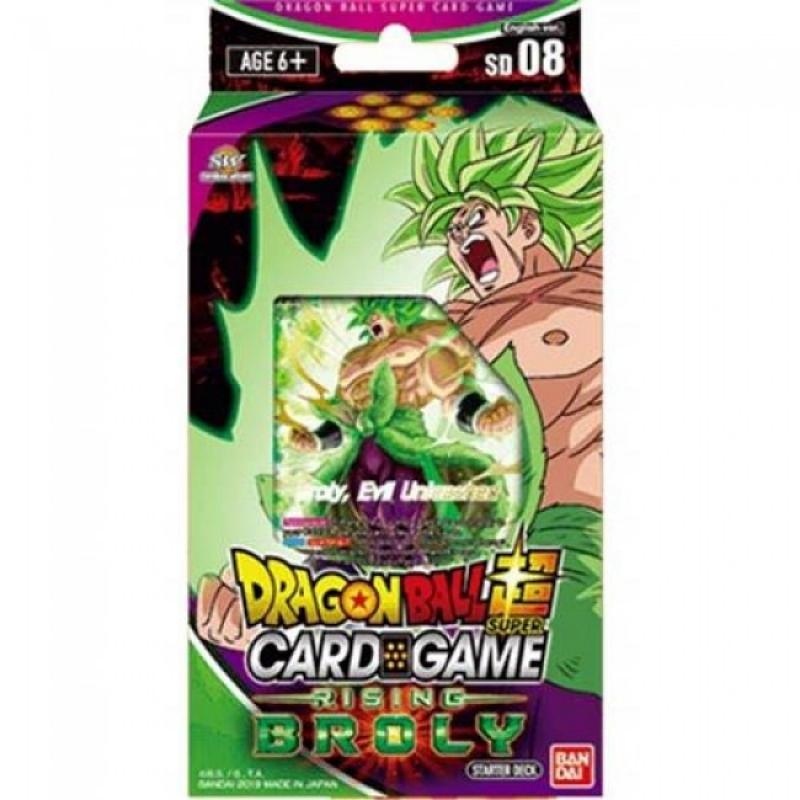 DRAGON BALL SUPER CARD GAME - RISING BROLY STARTER DECK 08 (ITA)