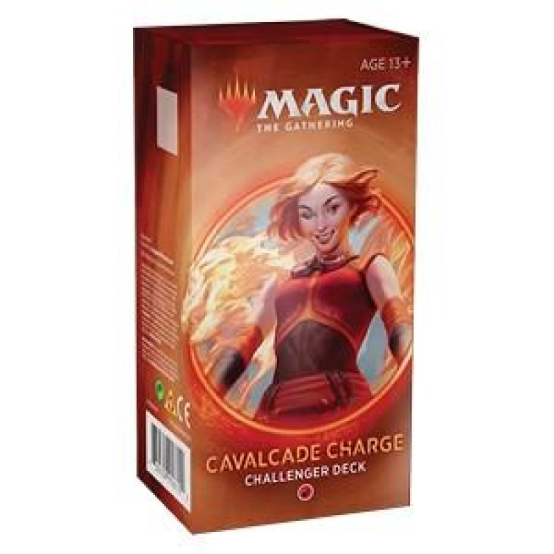 Magic the Gathering - CHALLENGER DECKS 2020 - CAVALCADE CHARGE