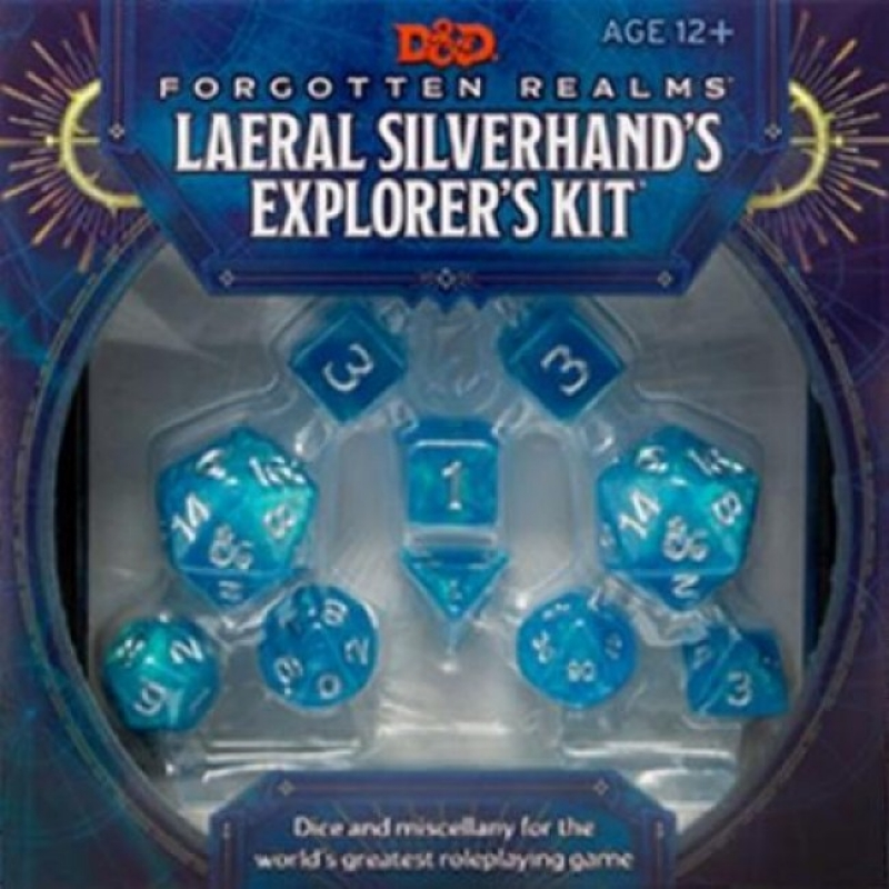 DUNGEONS & DRAGONS FORGOTTEN REALMS: LAERAL SILVERHAND'S EXPLORER'S KIT - ENG
