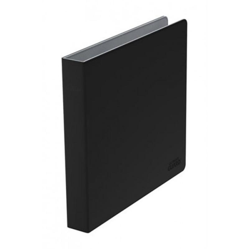 SUPREME COLLECTOR - ALBUM A 3 ANELLI PER FOGLI 4x4 - XENOSKIN SLIM BLACK