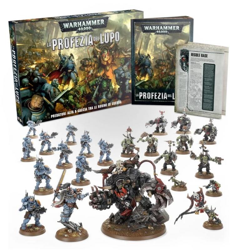 Warhammer 40.000: La Profezia del Lupo - Scatola base Introduttiva