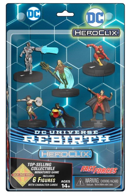 DC HEROCLIX: DC REBIRTH FAST FORCES