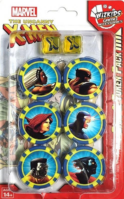 Heroclix: The Uncanny X-Men Dice and Token Pack