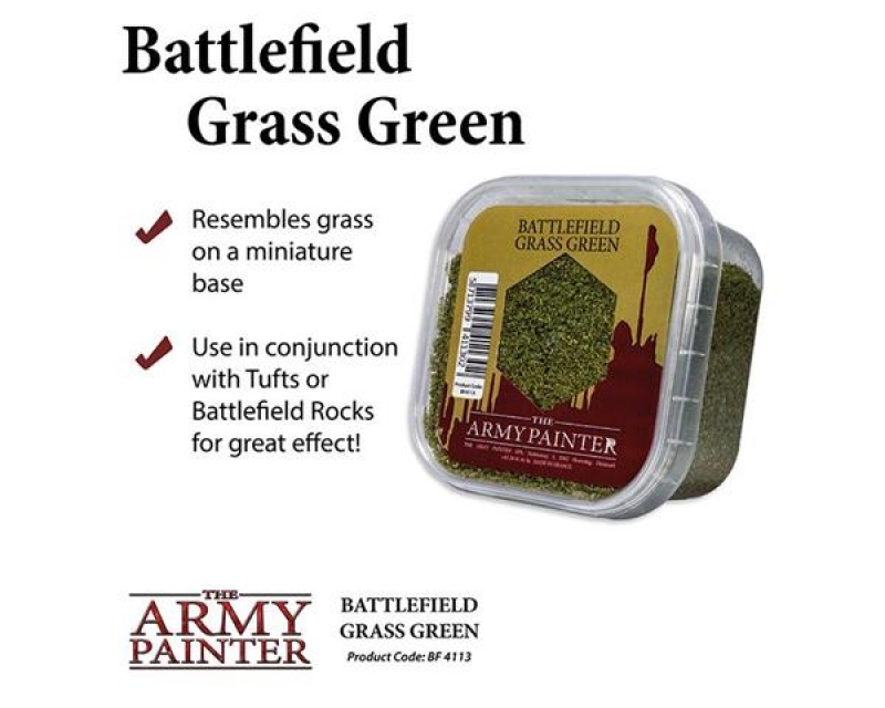 BATTLEFIELDS GRASS GREEN - ERBA VERDE