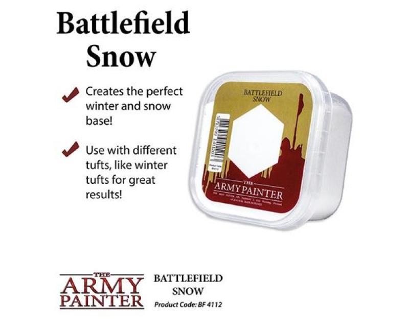 BATTLEFIELDS SNOW - EFFETTO NEVE