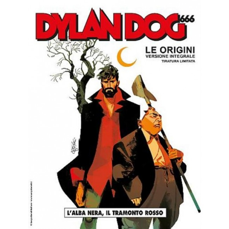 DYLAN DOG 666 LE ORIGINI - VERSIONE INTEGRALE 'TIRATURA LIMITATA' - VARIANT