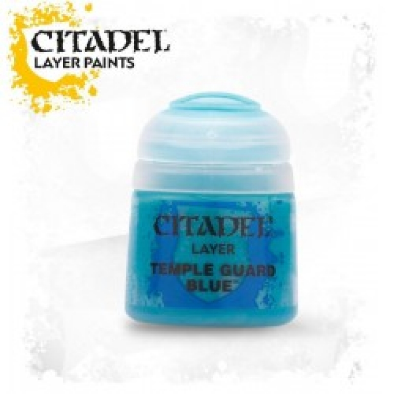 Layer - Temple Guard Blue