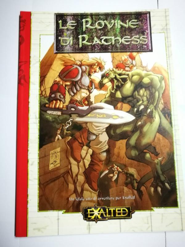EXALTED - LE ROVINE DI RATHESS