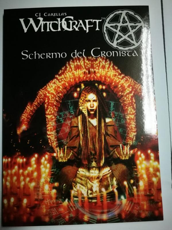WITCHCRAFT - SCHERMO DEL CRONISTA