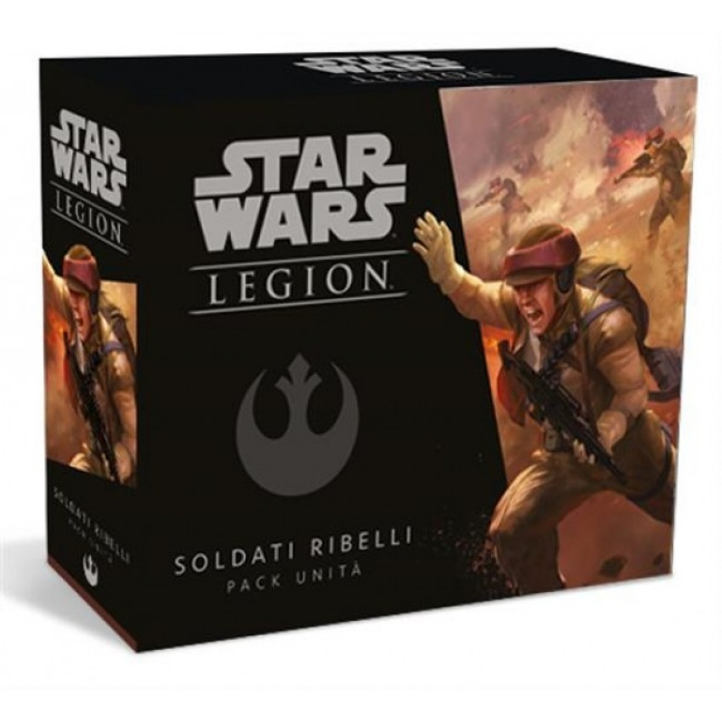 STAR WARS: LEGION - SOLDATI RIBELLI