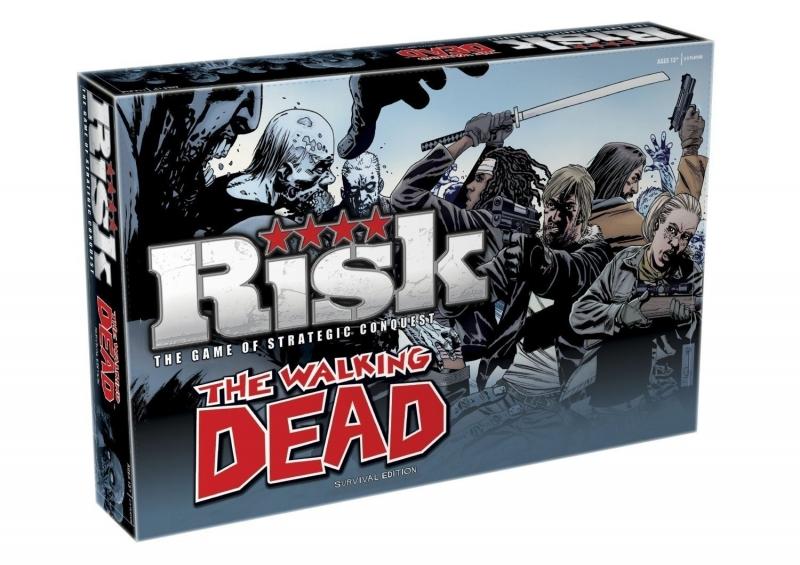 RISK THE WALKING DEAD (Gioco in Inglese)