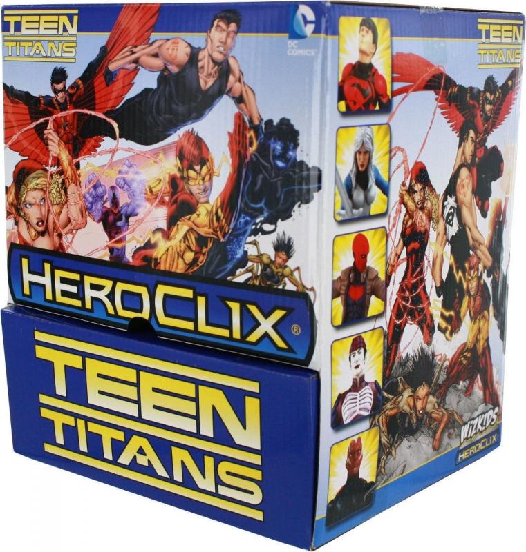 HeroClix - Teen Titans - Box