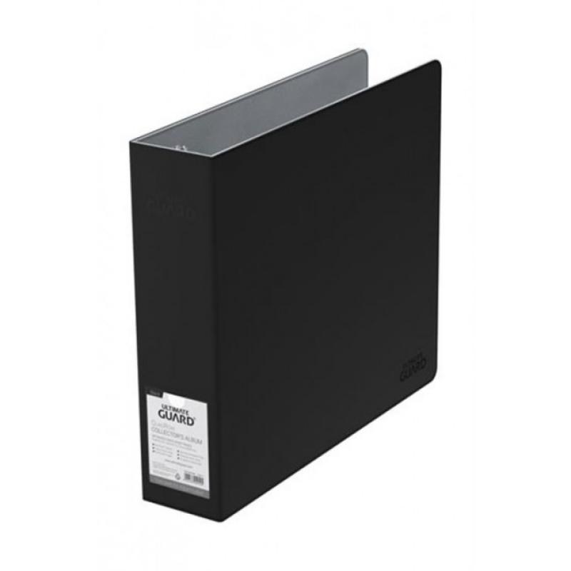 SUPREME COLLECTOR - ALBUM CON 3 ANELLI PER FOGLI 4x4 - XENOSKIN BLACK