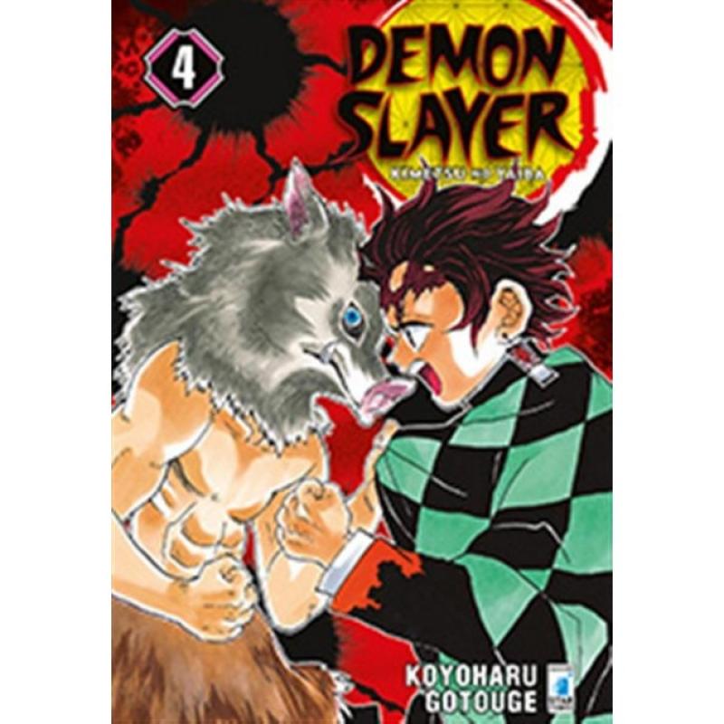 DEMON SLAYER #4 - KIMETSU NO YAIBA