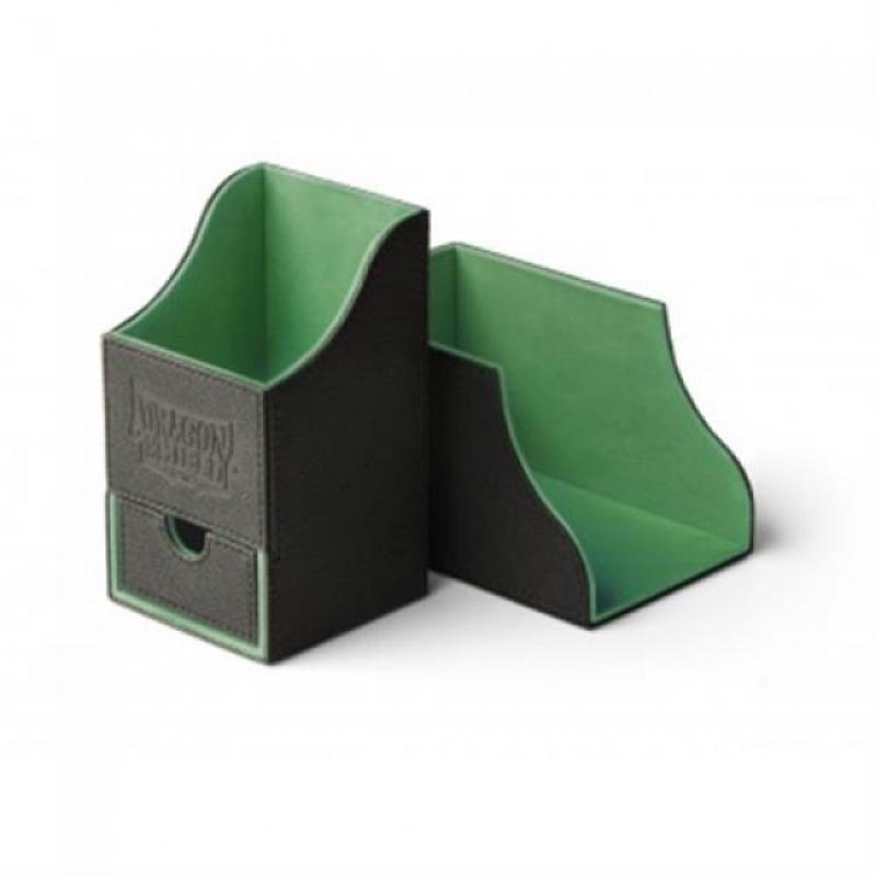 PORTA MAZZO - NEST BOX PLUS - BLACK/GREEN