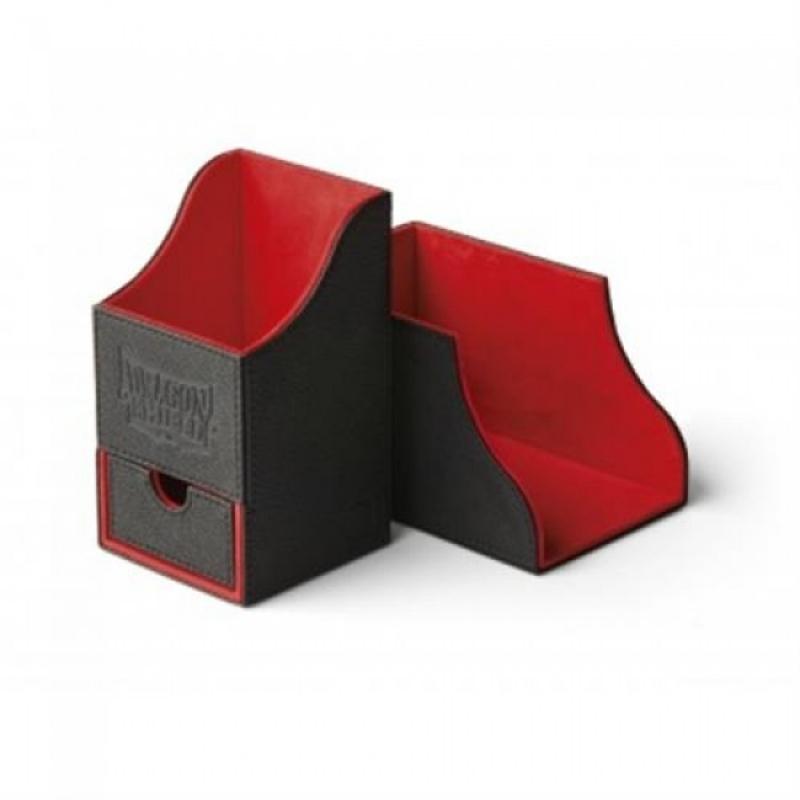 PORTA MAZZO - NEST BOX PLUS - BLACK/RED