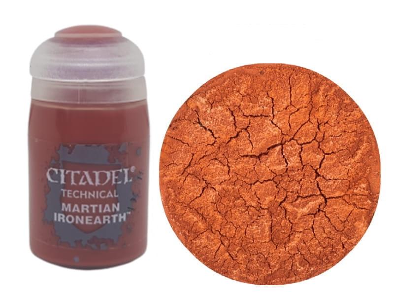 TECHNICAL - Martian Ironearth - Texture per basette