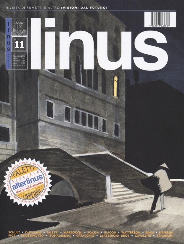 LINUS 11 - LINUS 654 - NOVEMBRE 2019