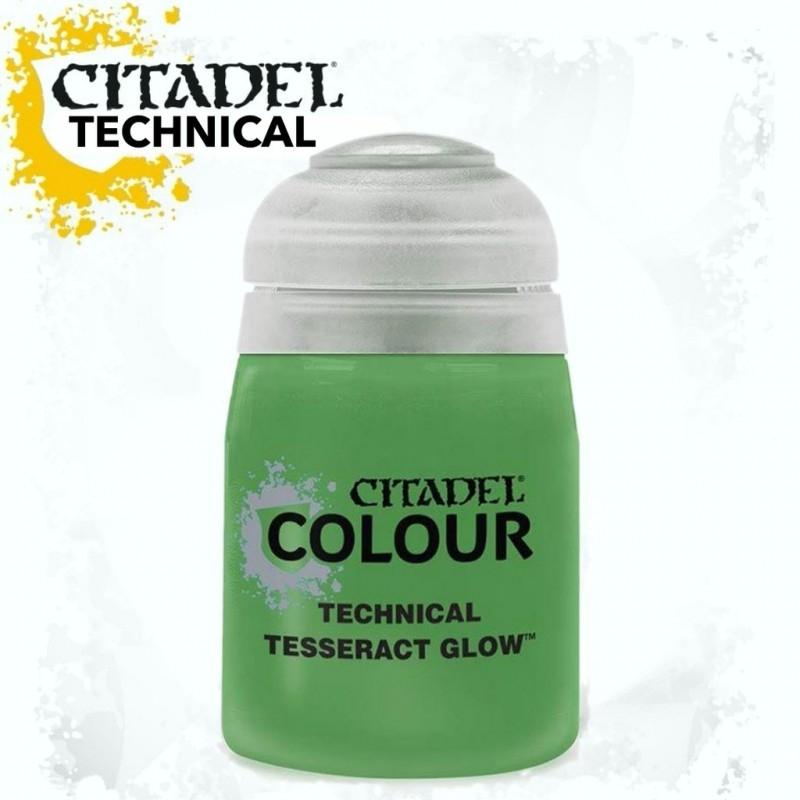 TECHNICAL - TESSERACT GLOW (effetto verde energia)