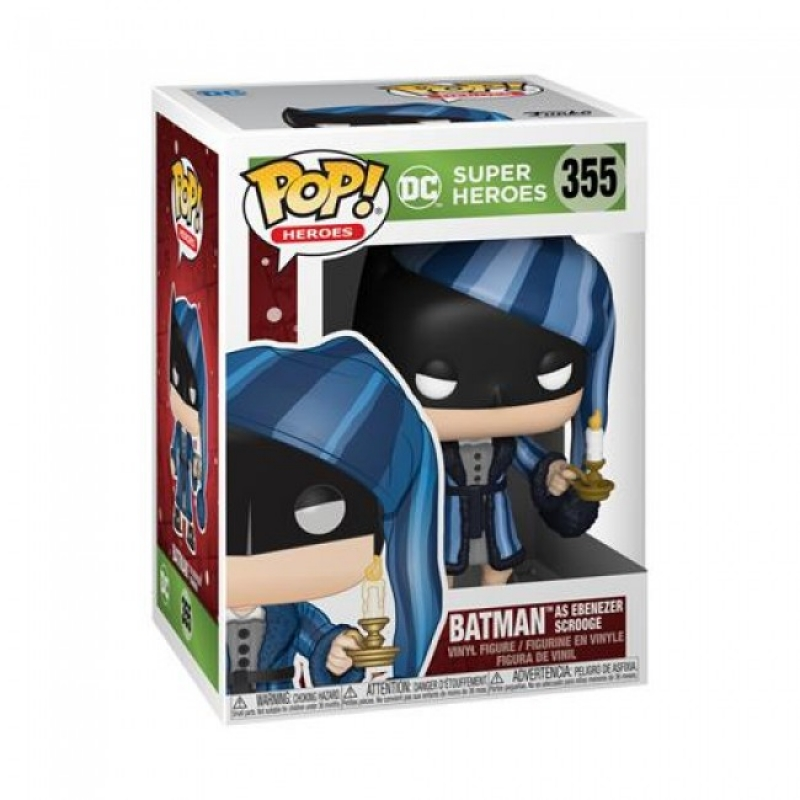 DC COMICS: HOLIDAY - POP FUNKO VINYL FIGURE 355 SCROOGE BATMAN