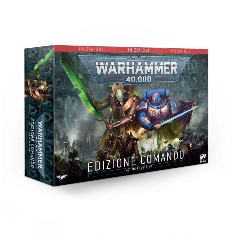 Warhammer 40.000 - Set Introduttivo - EDIZIONE COMANDO