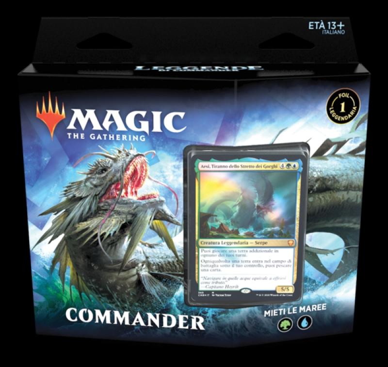 Magic the Gathering - Leggende di Commander - Mieti le Maree (Italiano)