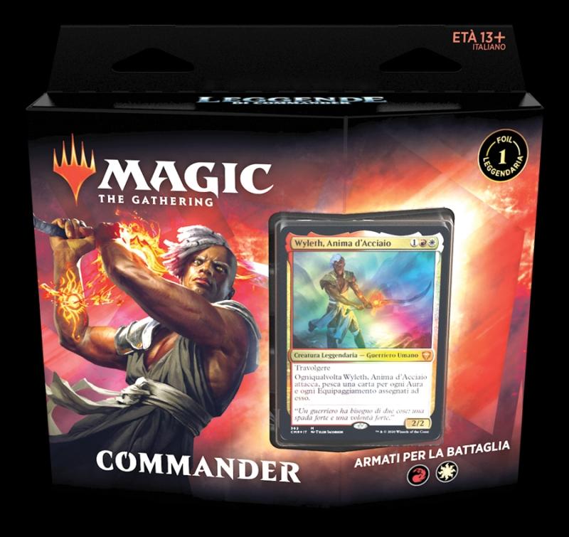 Magic the Gathering - Leggende di Commander - Armati per la battaglia (Italiano)