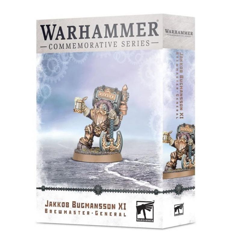 Warhammer Age of Sigmar - JAKKOB BUGMANSSON XI BIRRAIO GENERALE