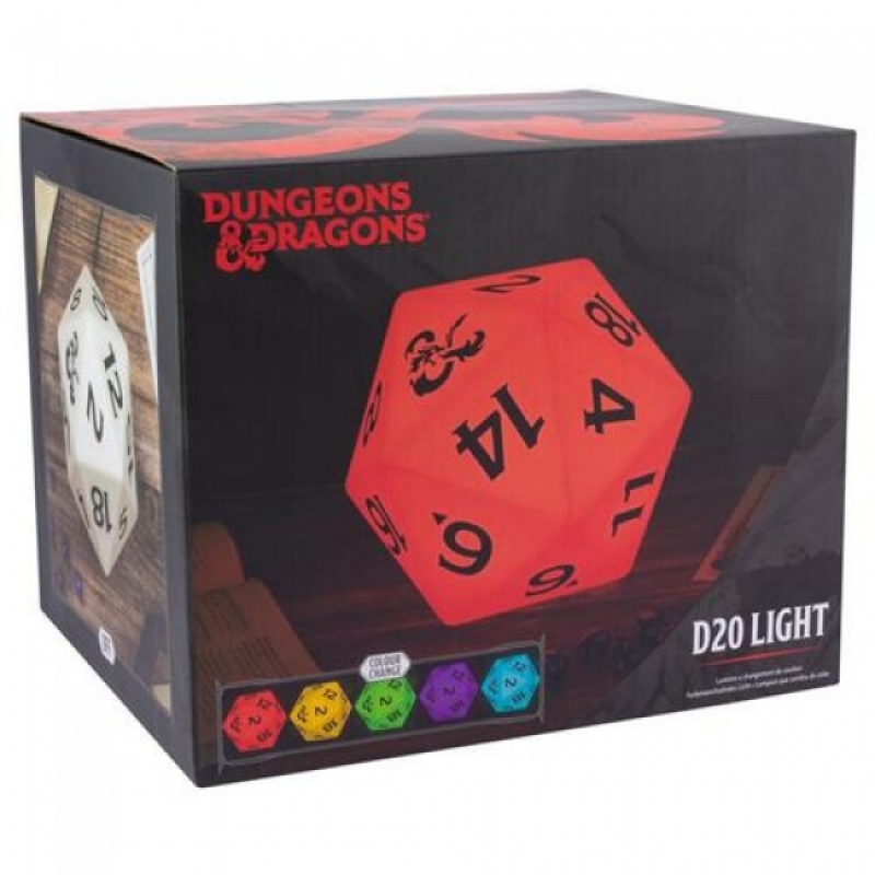 DUNGEONS AND DRAGONS D20 - DESK LIGHT