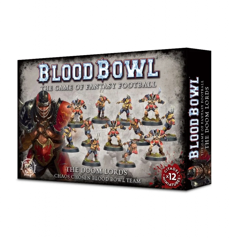 Blood Bowl Team - The Doom Lords - Chaos Chosen