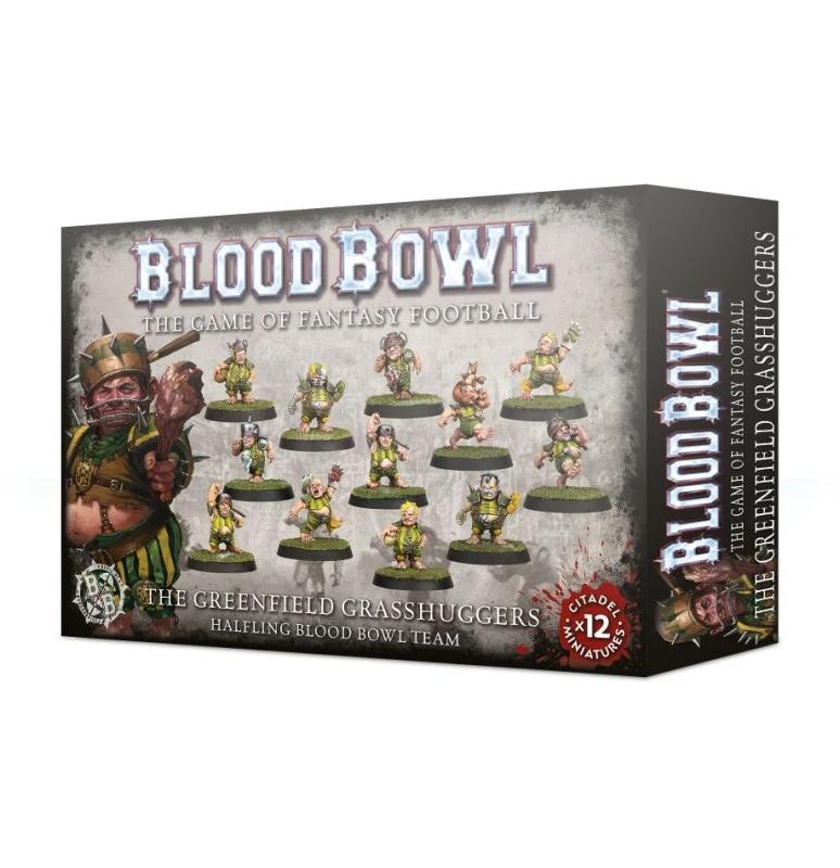 Blood Bowl Team - The Greenfield Grasshuggers - Halfling