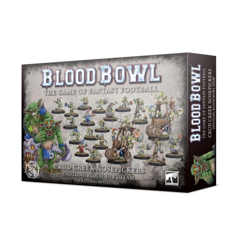 Blood Bowl Team - Crud Creek Nosepickers – Snotling