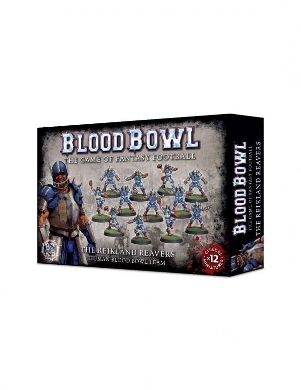 Blood Bowl Team - The Reikland Reavers - Umani