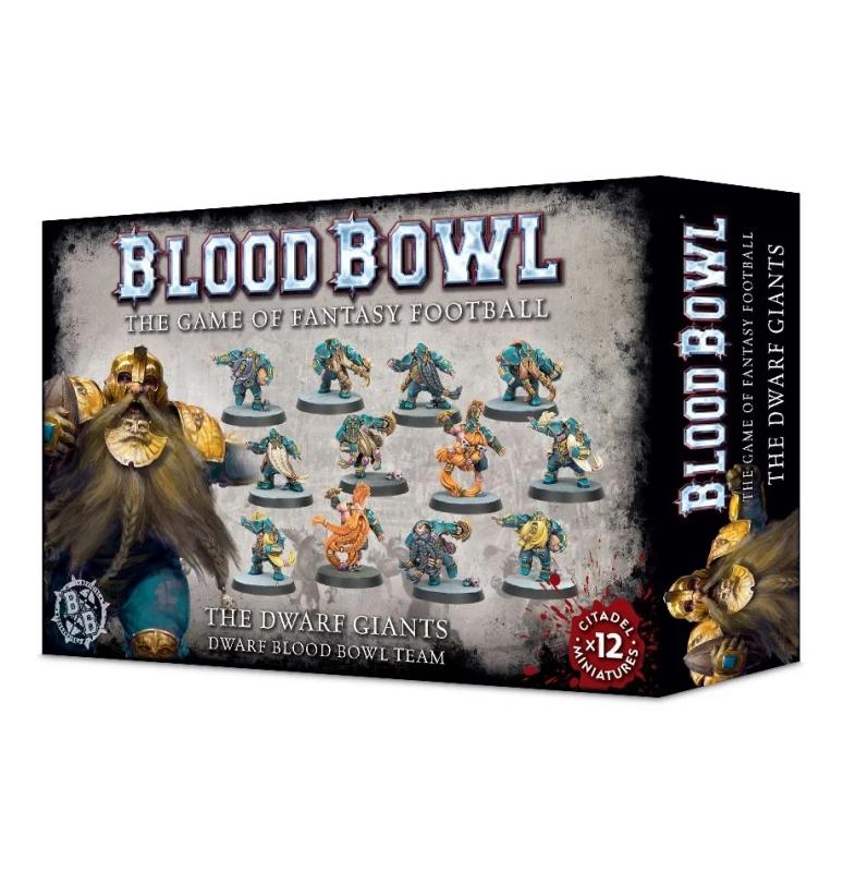 Blood Bowl Team - The Dwarf Giants - Dwarf