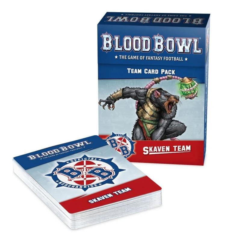 Blood Bowl - Skaven Team Card Pack (Inglese)