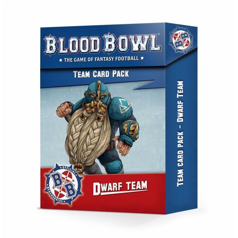 Blood Bowl - Dwarf Team Card Pack (Inglese)