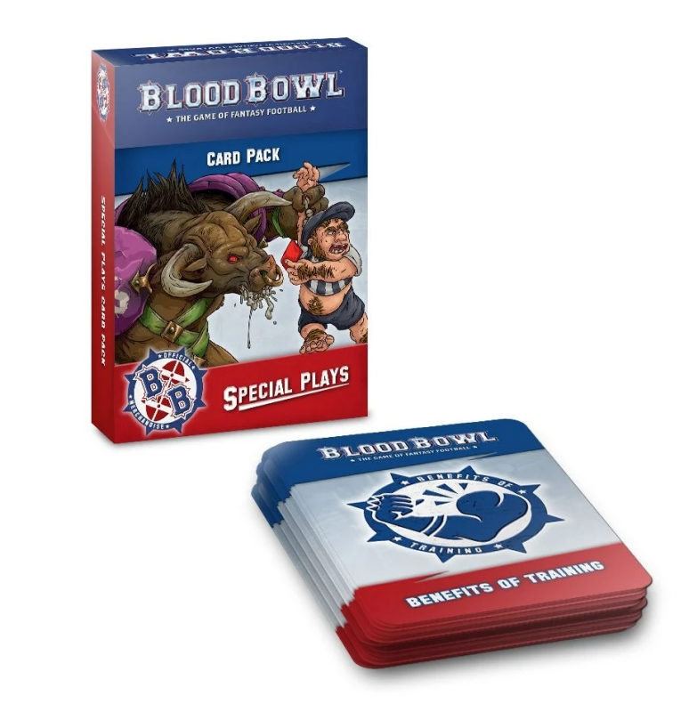 Blood Bowl Special Plays Card Pack (Inglese)
