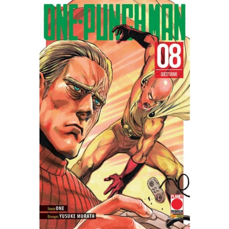ONE-PUNCH MAN #8 - RISTAMPA
