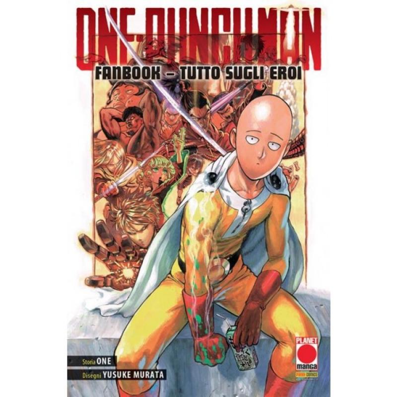 ONE-PUNCH MAN FANBOOK: TUTTO SUGLI EROI - RISTAMPA